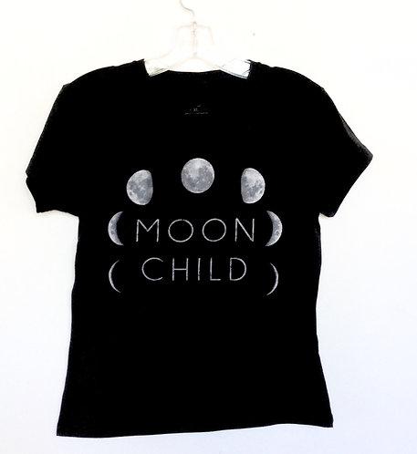 Moon Child Cildrens T Shirt