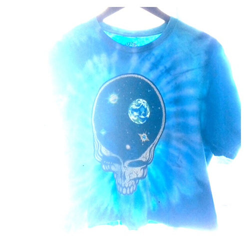 Grateful Dead Crop Tie Dye T Shirt