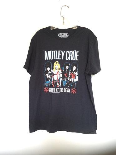 Motley Crue Shout At The Devil Black T shirt