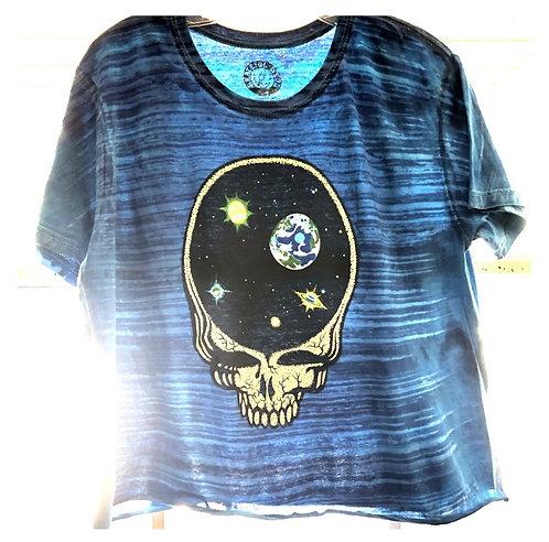 Grateful Dead Crop Tie Dye T Shirt