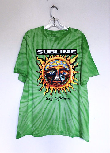 Sublime Classic Sun 40 oz to Freedom Tee Shirt