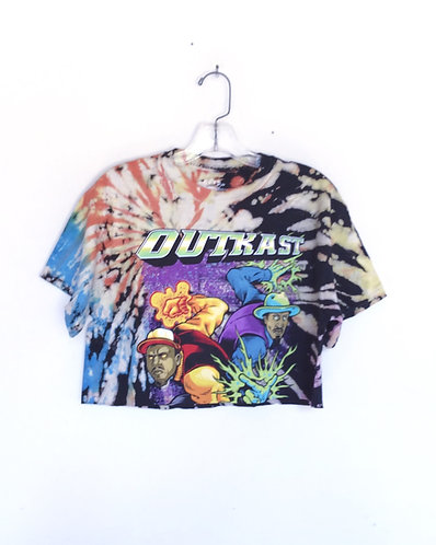 OutKast Cropped Band Tee Shirt