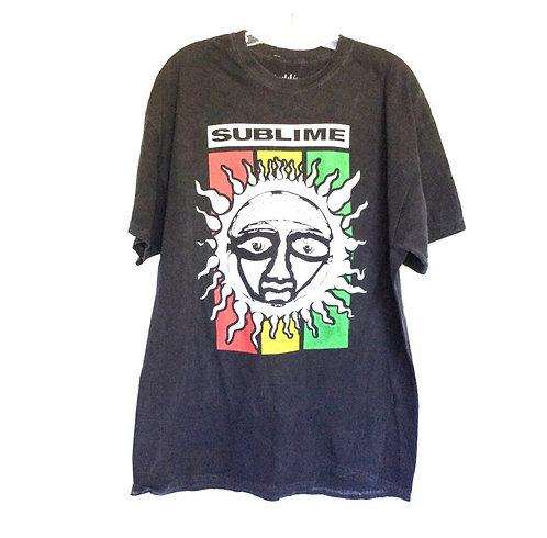 Sublime Black Band Tee Shirt Dress