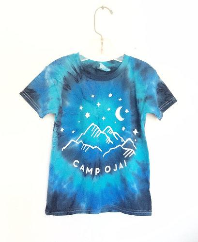 Camp Ojai Starry Night Tie Dye T shirt