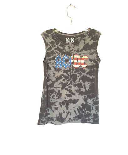 AC/DC Tattered Flag Tank Top