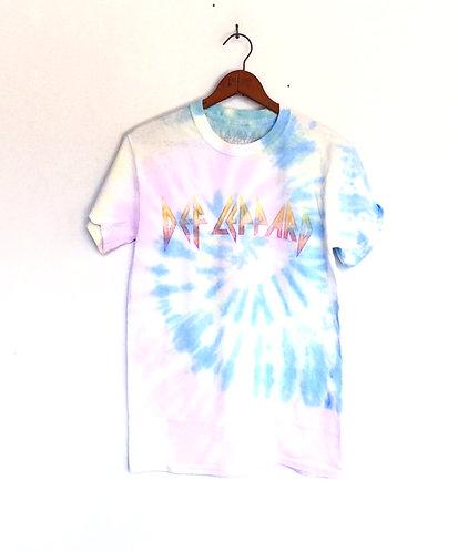 Def Leppard Tie Dye T Shirt