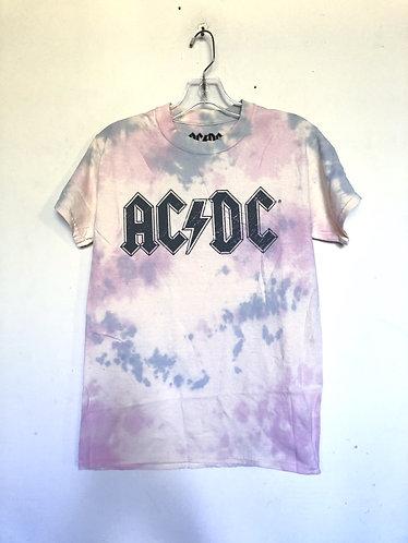AC/DC Band Tie Dye T Shirt