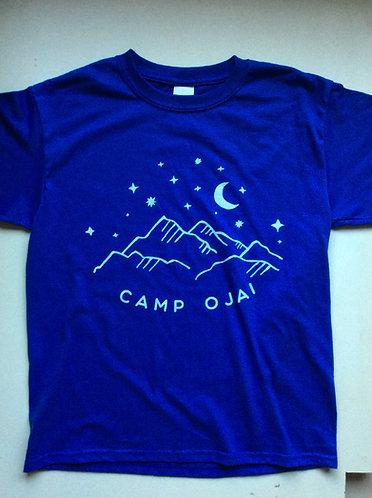 Starry Night Camp Ojai Youth T Shirt