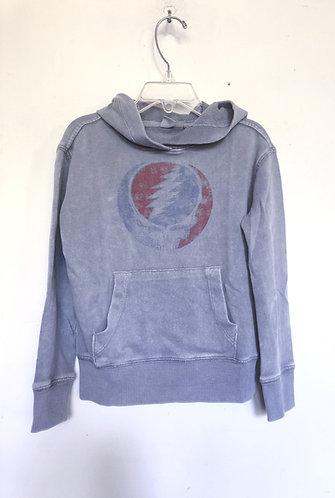 Grateful Dead 1987 Tour Pullover Hoodie Sweatshirt Childrens