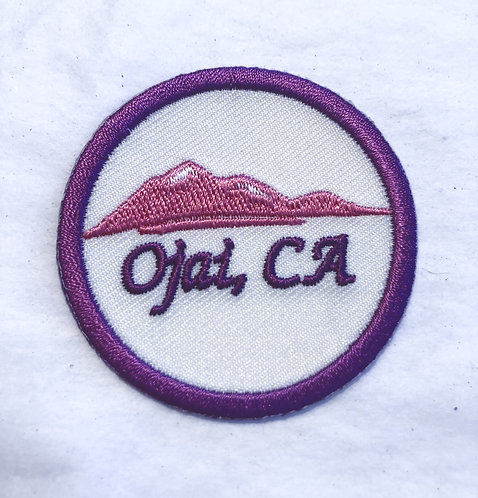 Ojai Ca Pink Moment Patch