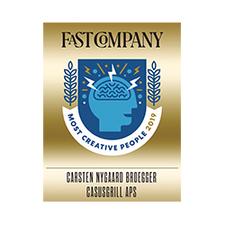 Most Creative People 2019 in Business, Fast Company Magazine NY, USA