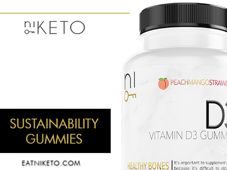 niKETO supplement : SUSTAINABILITY GUMMIES