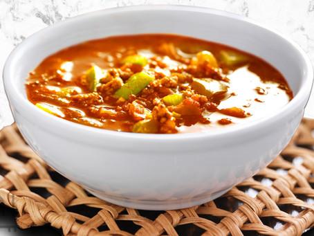 low carb : instant pot taco soup