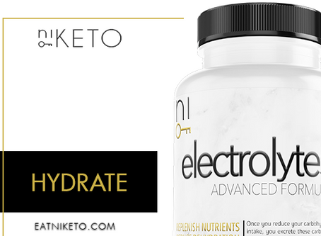 niKETO supplement : HYDRATE