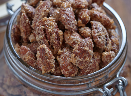 low carb : keto candied pecans