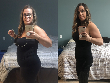 keto: transformation tuesday - michelle