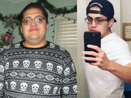 keto: transformation tuesday - juan