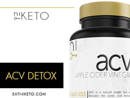 niKETO supplement : ACV DETOX