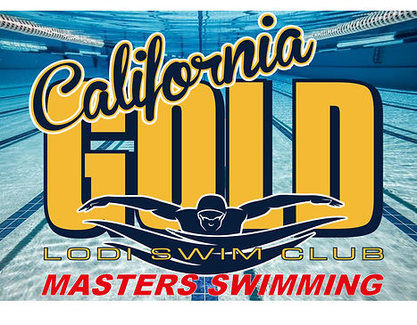 Lodi CA Gold- Masters Swimming water bkg