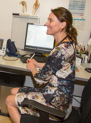 Dr Sue Acton, specialist in women's health