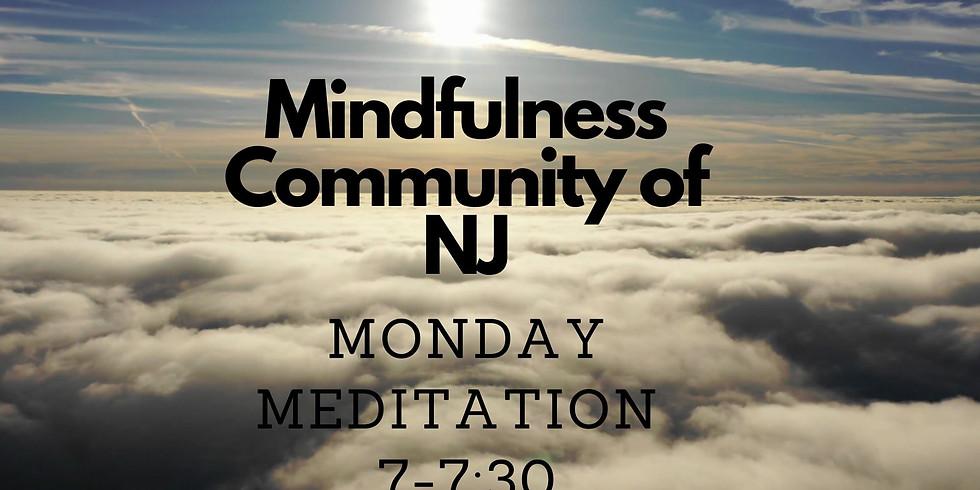 Mindfulness Community of NJ Monday Meditation 7-7:45