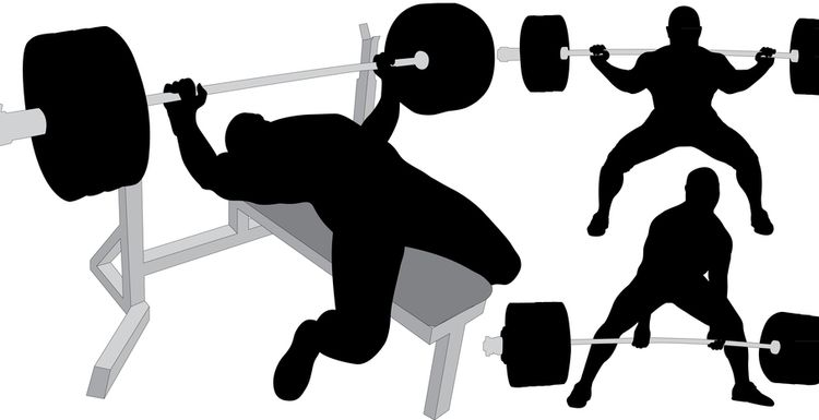 Compound movements for a well rounded gym session