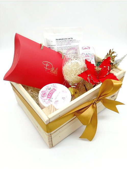 Christmas Hamper- Christmas Rose