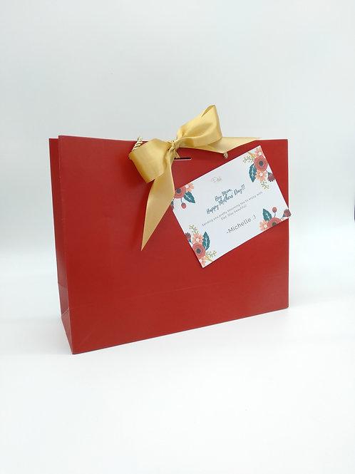 Maroon Gift Bag