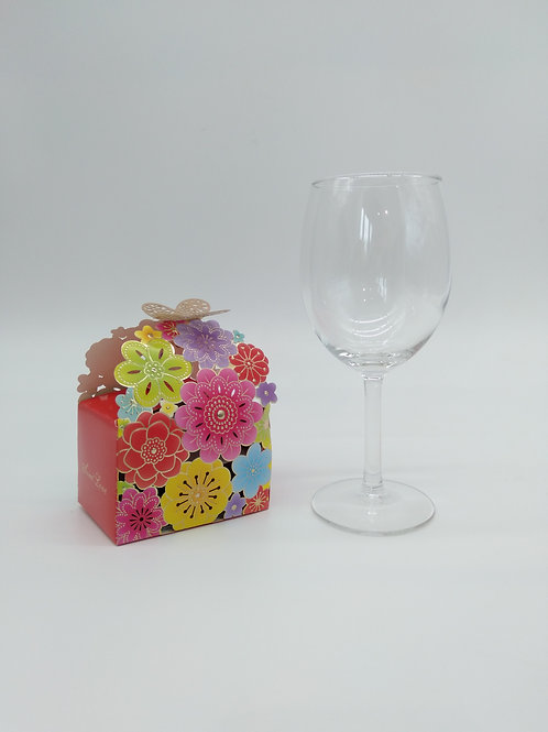 Heat Resistant Tea glass + Butterfly Miniature Box (3 teaball)