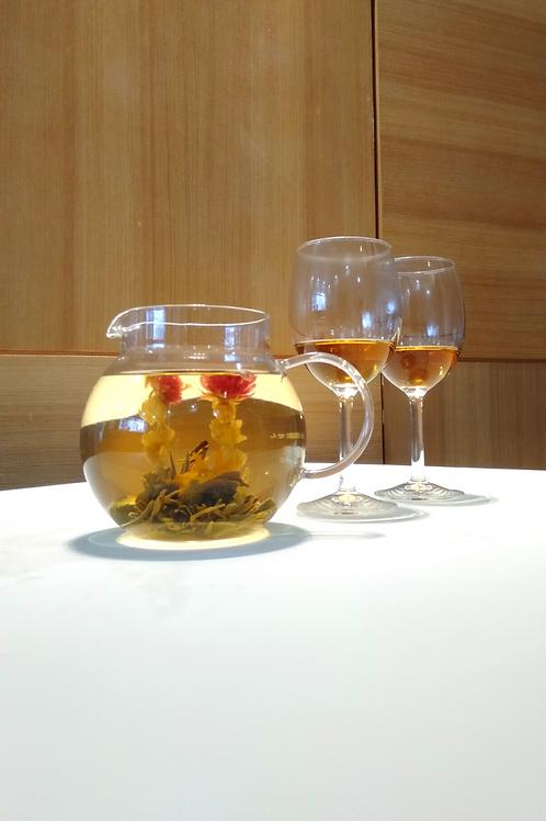 Hario Teapot & 2 Tea Glasses