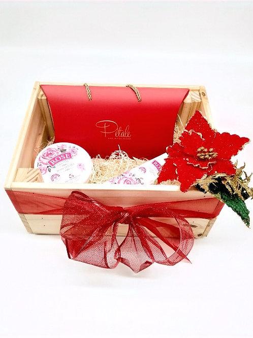Christmas Hamper- Christmas Evening Rose