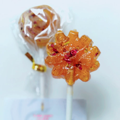 Flower Honey Lollipop