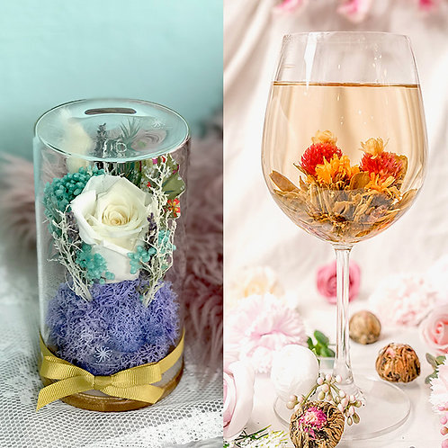 Care Hamper- White Rose