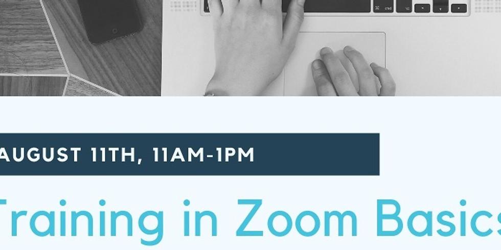 Training in Zoom Basics