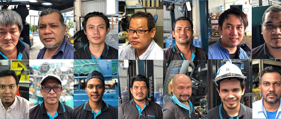 Forklift Rental Johor Bahru and KL