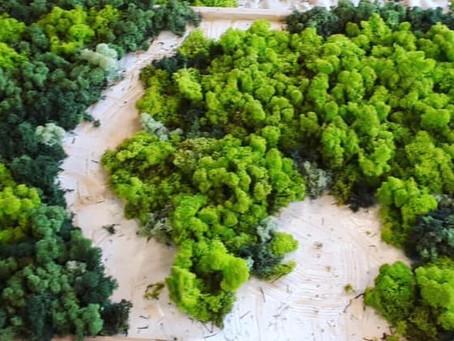 De groene wereld van het KLA