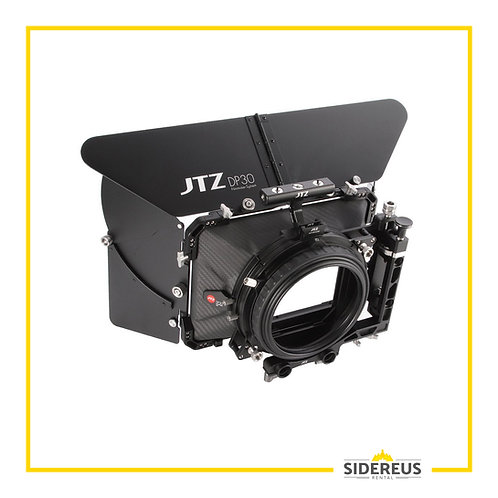 """Matte Box JTZ DP30 4x4"""" Cine Carbon Fiber"""