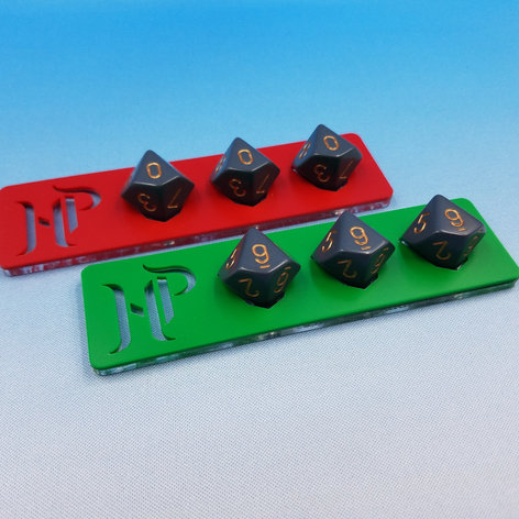 Tabletop Board Game HP Trackers