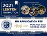 SCS School - No Application Fees