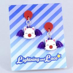 Moogle Earrings