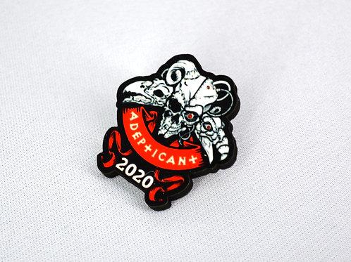 AdeptiCan't 2020 Commemorative Skulls Pin