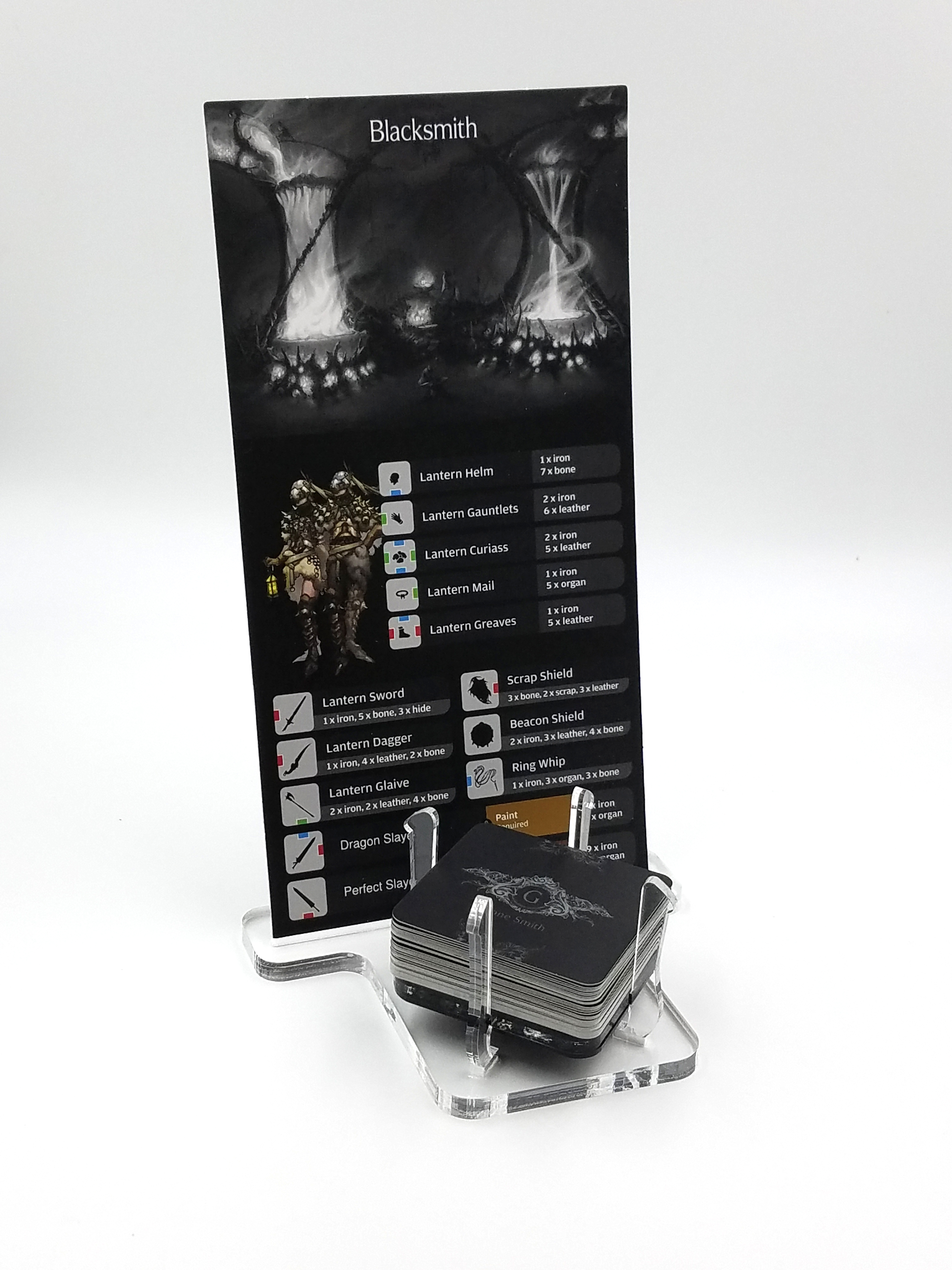Gear Cauldrons and Settlement Card Stand