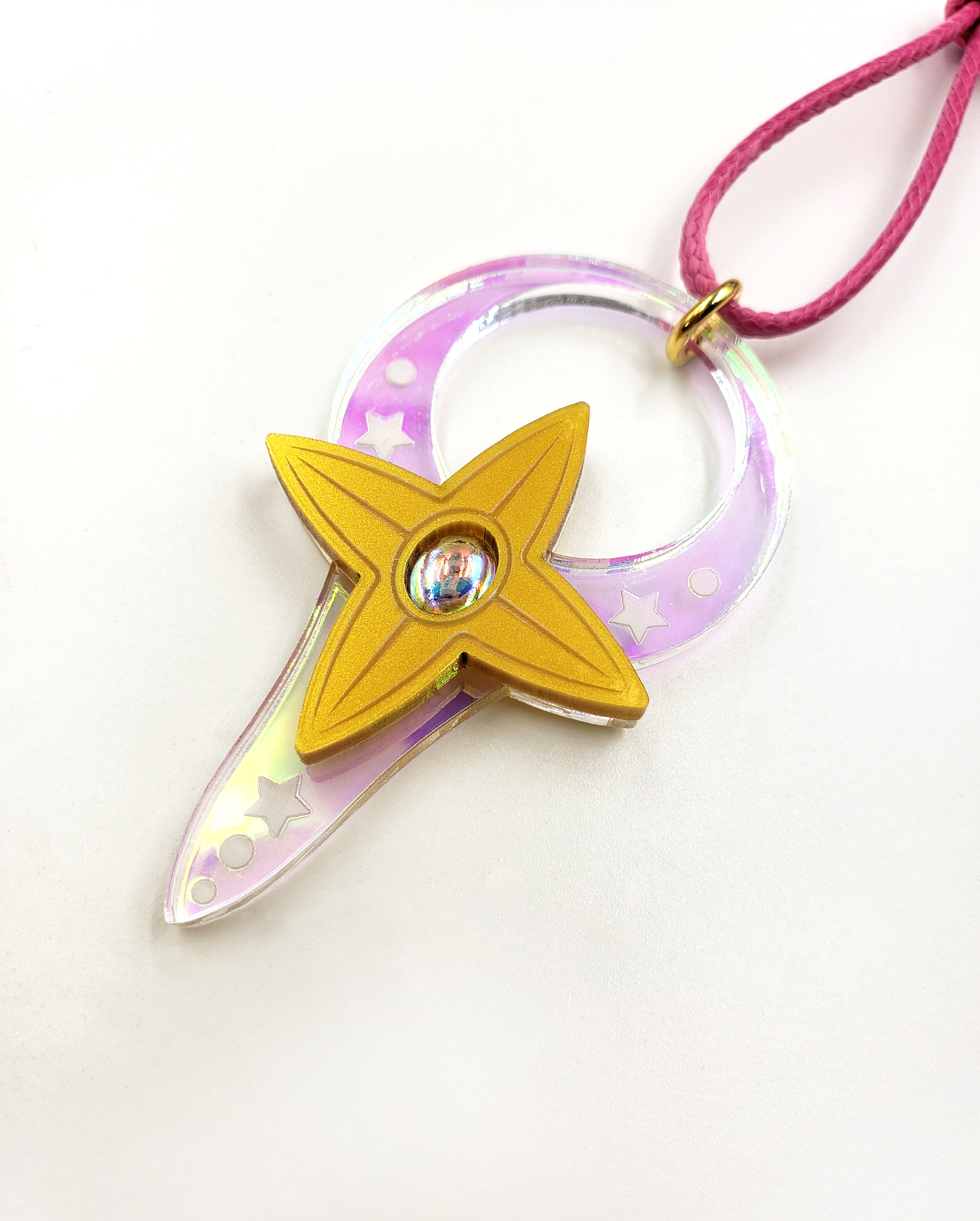 Staff of Micha Necklace