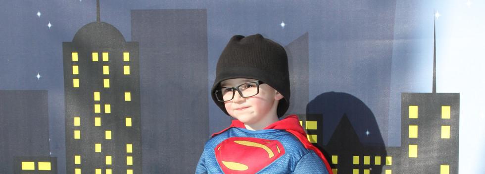 Super Hero Shuffle