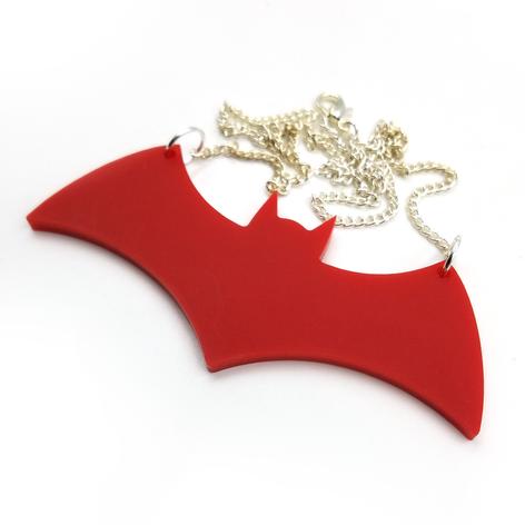 Hex Bat Necklace
