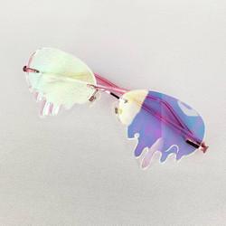 Iridescent Drippy Glasses