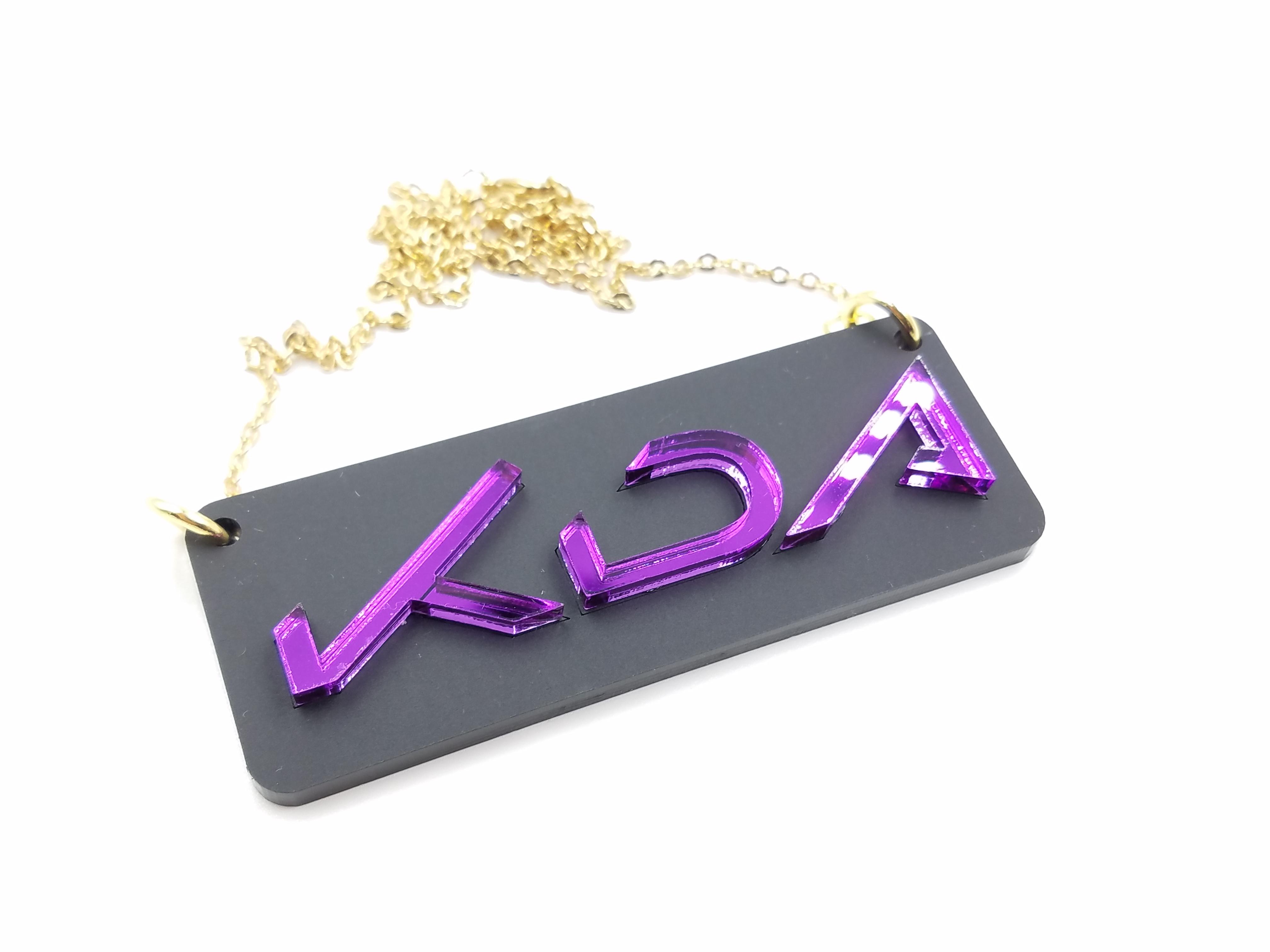 KDA Logo Necklace
