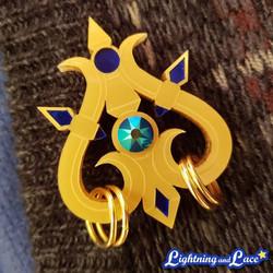 Priestess' Staff Pin