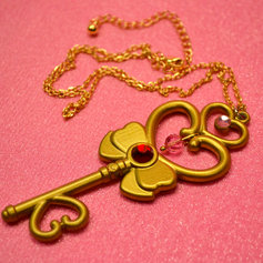 Time Key Necklace