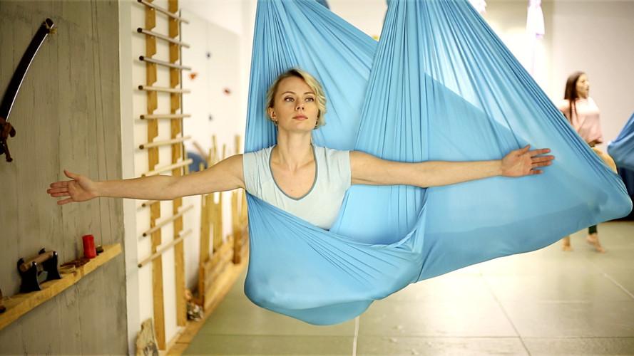SVR Beden Zihin Hamak Yogası